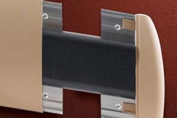 Bate macas / Protetor de paredes / Rodameios em PVC SIB 1800I