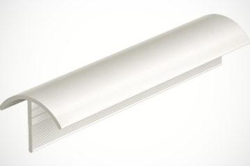 Canto externo em PVC